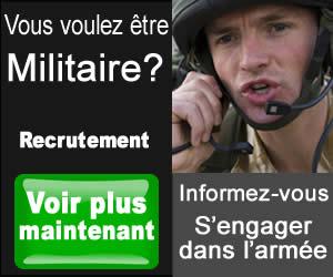 S'engager dans l'armée